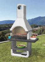 Betonový zahradní krb s grilem výprodej