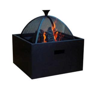 Přenosné praktické ohniště 3v1