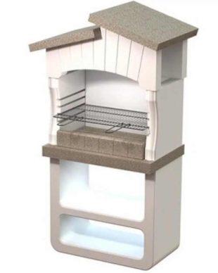 Betonový zahradní krb v moderním designu