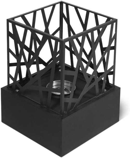 praktický stolní krb do exteriéru i interiéru